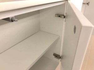 Panasonicキッチン収納扉開閉の様子