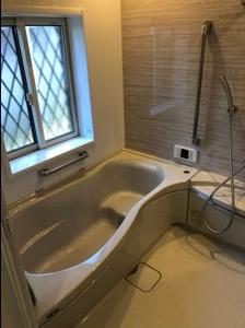 入居前のお風呂の写真