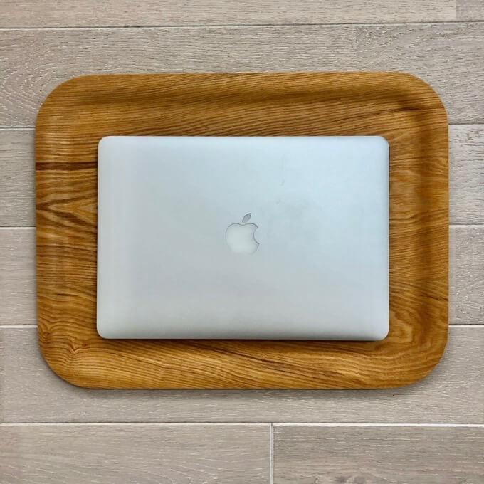 Macbook airにピッタリサイズ