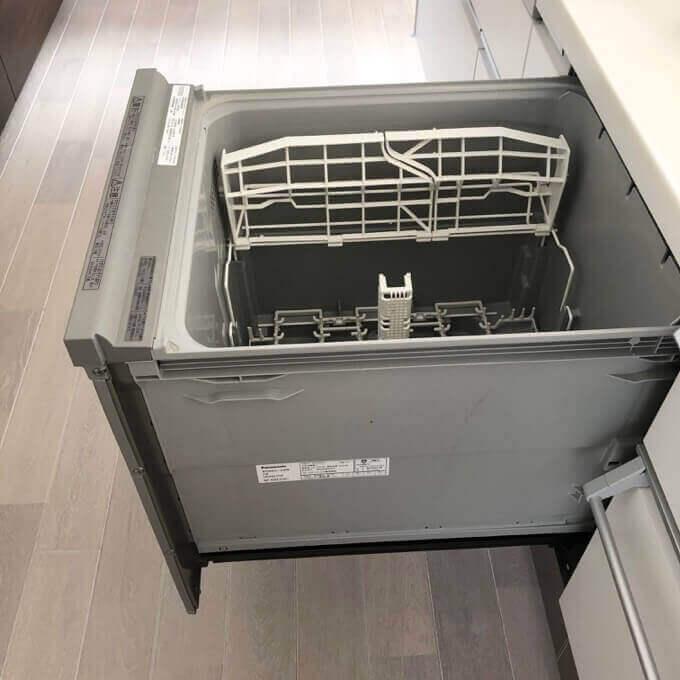 パナソニックキッチンの食洗機は標準で深型