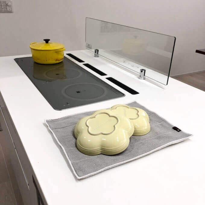 Plys-base水切りマットは食洗機不可の食器の乾燥に