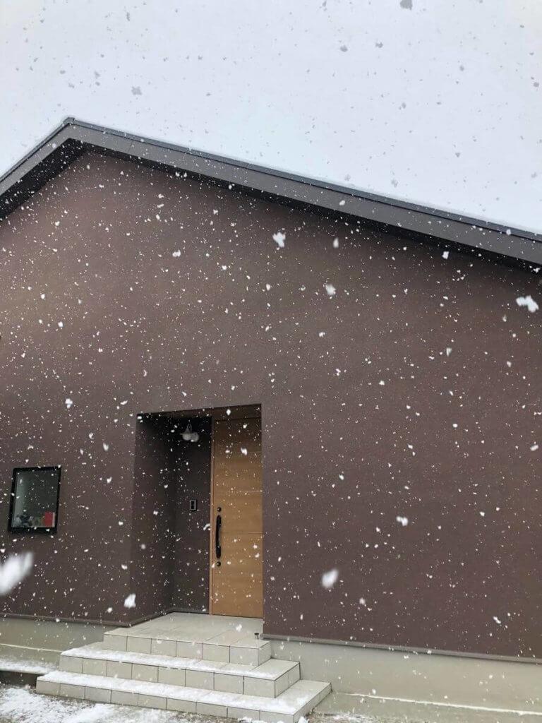 住友林業の平屋グランドライフWEB内覧会写真4雪