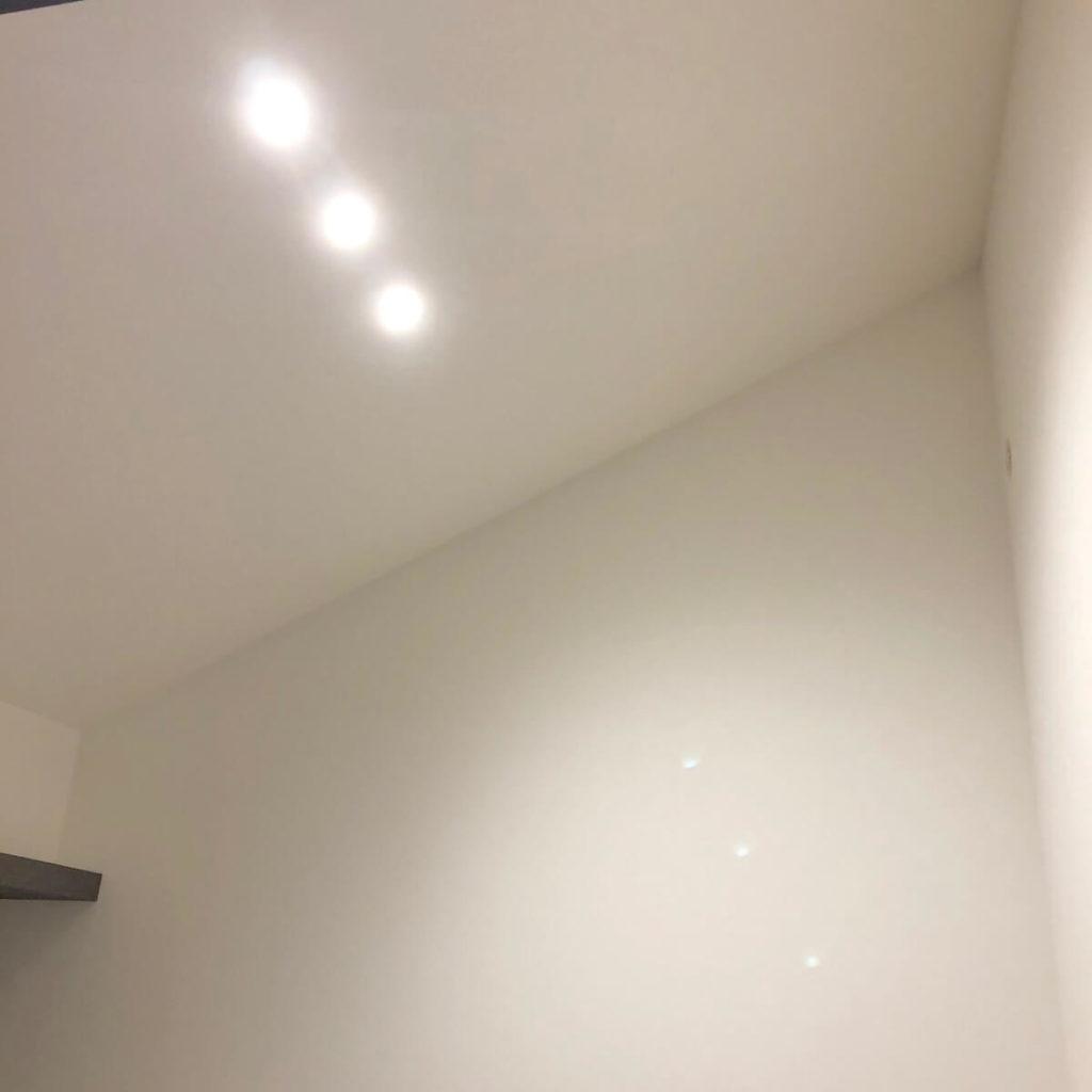 照明はダウンライト
